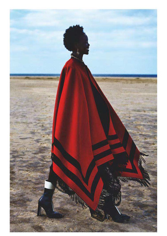 Alexander Mcqueen aw18 in UK Vogue Anton Corbijn