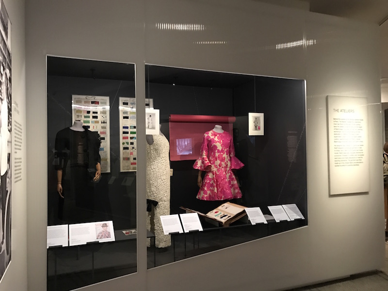 Balenciaga Shaping Fashion exhibition at V&A