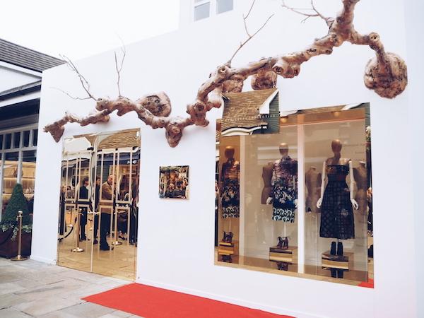 Bicester village British Designers Collective 2015