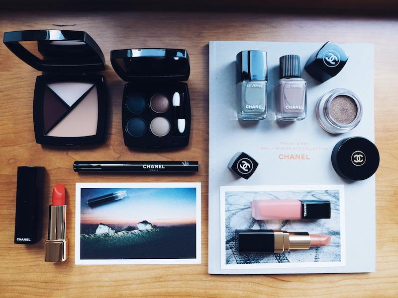 Chanel Travel Diary beauty fall winter 2017