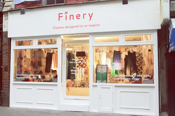 Finery London Greek Street pop up