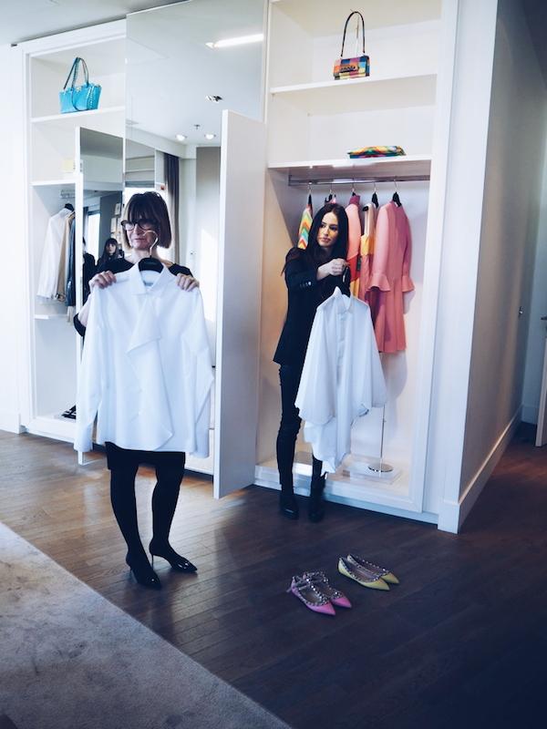 Galeries Lafayette Paris Pesonal Shopping Suite