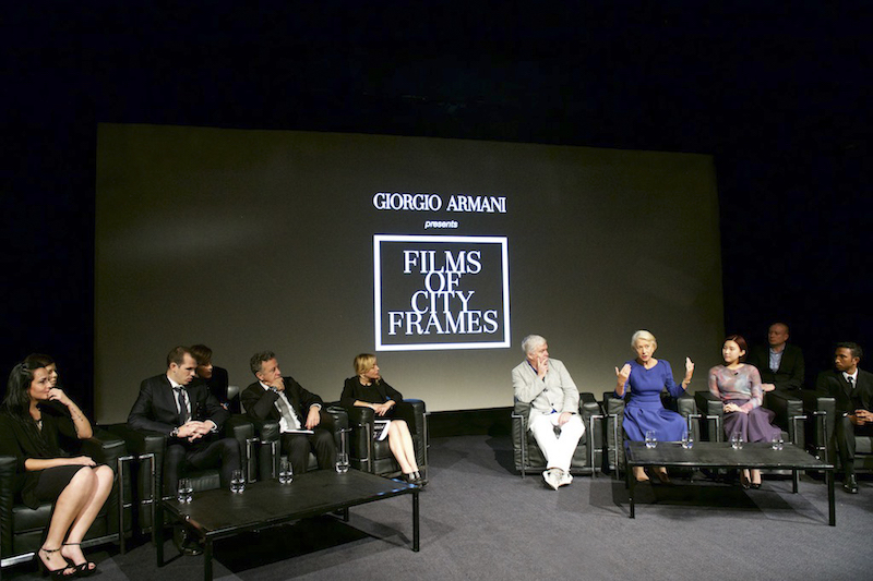Giorgio Armani Films of City Frames screening at BFI Southbank Panel Discussion