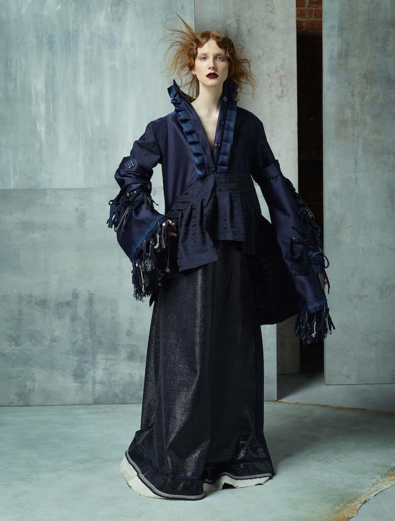 Ravensbourne fashion design graduate Sophie Hampson