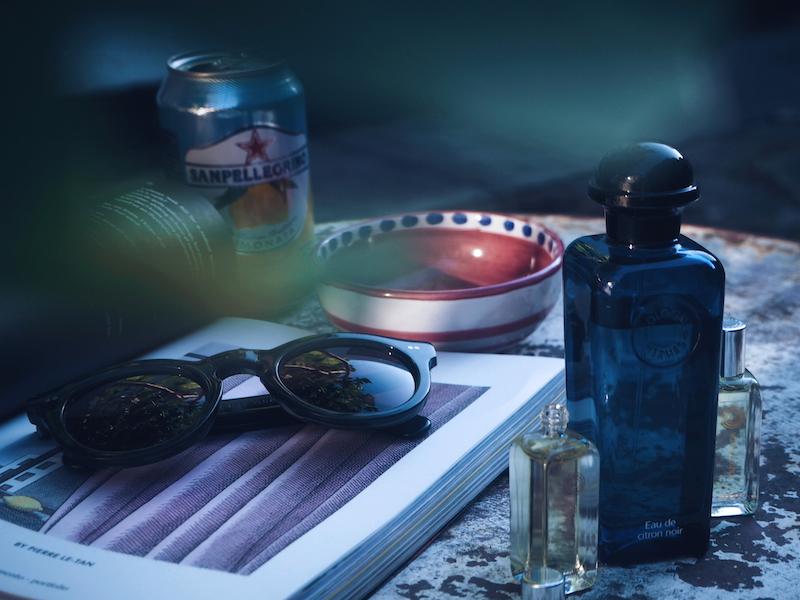 Hermes Eau de Citron Noir and Musc Pallida and Cardamusc pure perfume oils