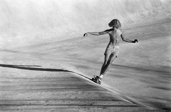 Hugh Holland Silver Skate Seventies The Concrete Swell - VIper Bowl Hollywood CA 1976