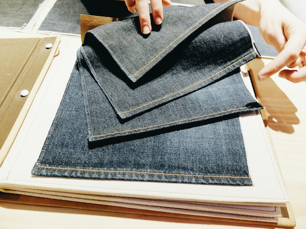 1 Levi's Lot No 1 made to order jeans