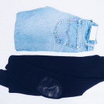 Perfect pairing: RE/DONE jeans + modified Margiela