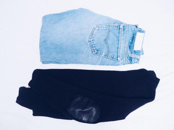 Re/Done jeans Martin Margiela jumper