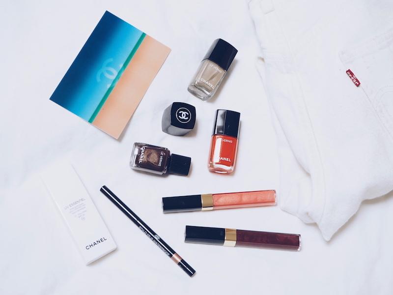 Chanel espadrilles nail polish colour