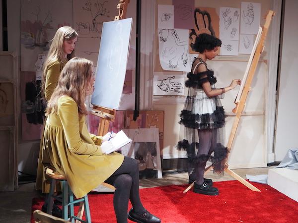 Molly Goddard  Aw15 London Fashion week