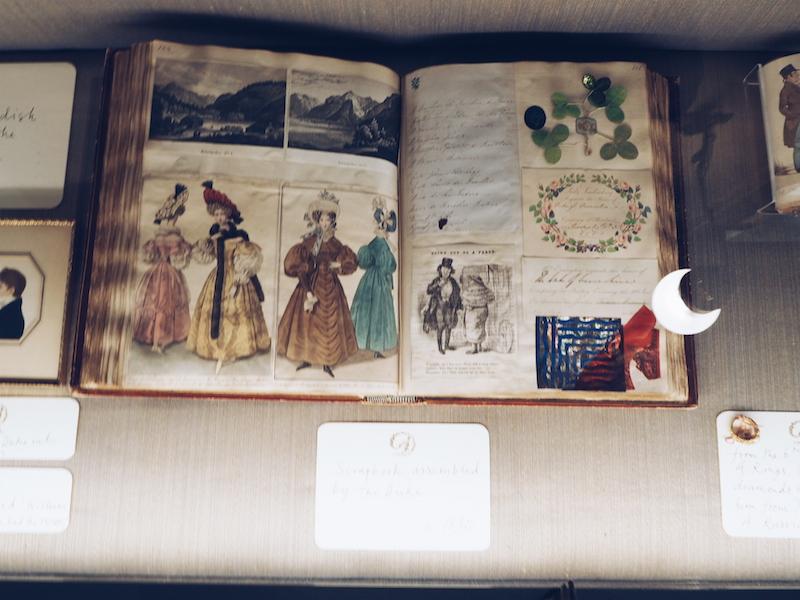 'House Style' Chatsworth House scrapbook