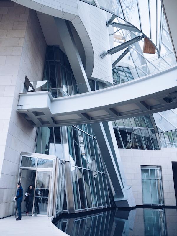 Frank Gehry fondation louis vuitton