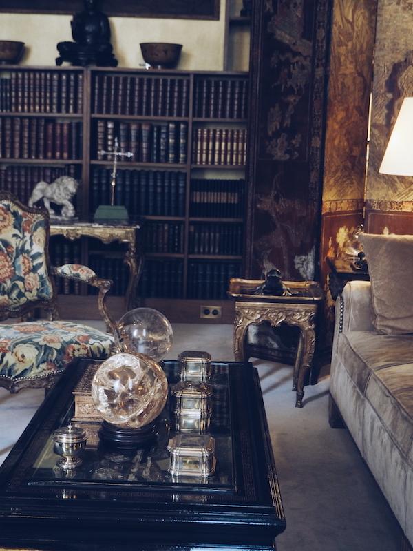 In Coco Chanel's private apartment Rue cambon