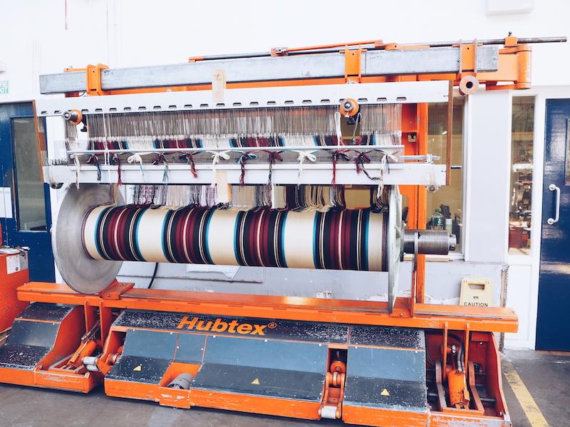 Johnstons of Elgin weaving factory