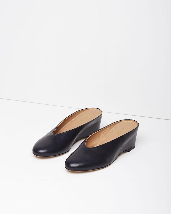 Lemaire glove slipper mule La Garconne