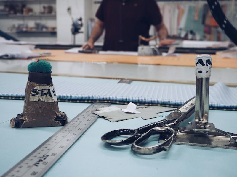 Turnbull and Asser bespoke shirt factory Quedgeley Gloucester