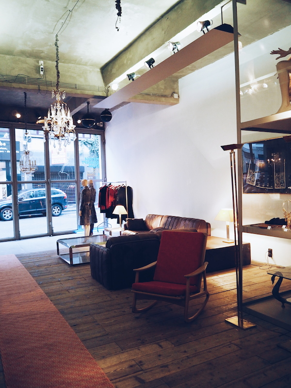 VIAR vintage store in Antwerp