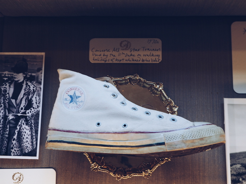 Chatsworth House House Style the Duke of Devonshire's Converse shoes