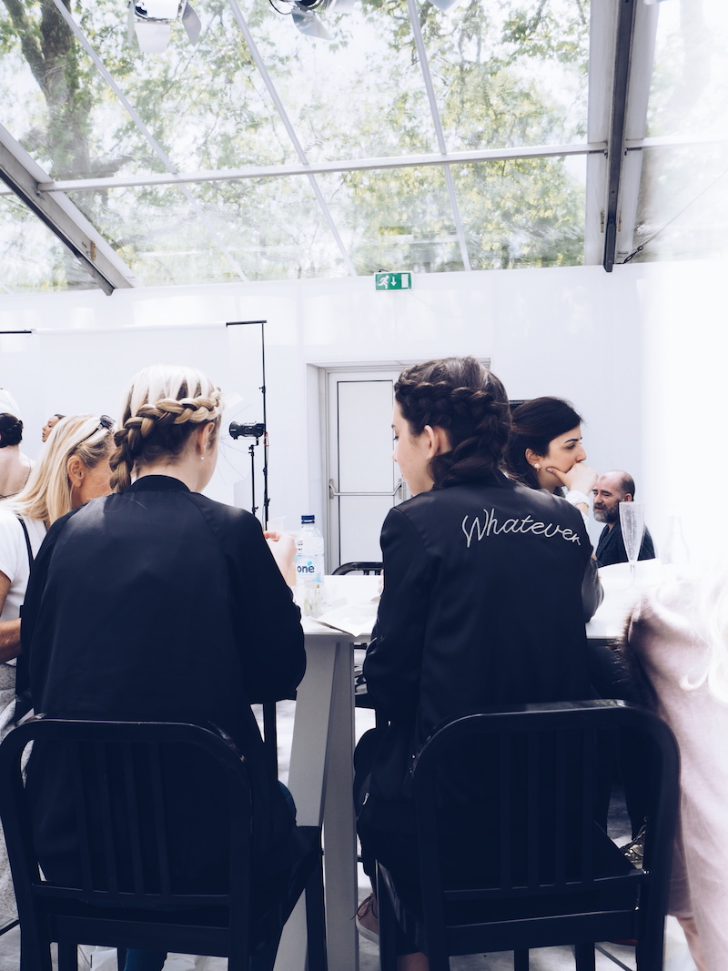 Vogue Festival braid bar