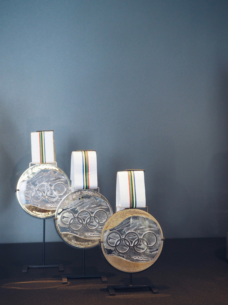1992 Olympic medals designed by Marie-Claude Lalique