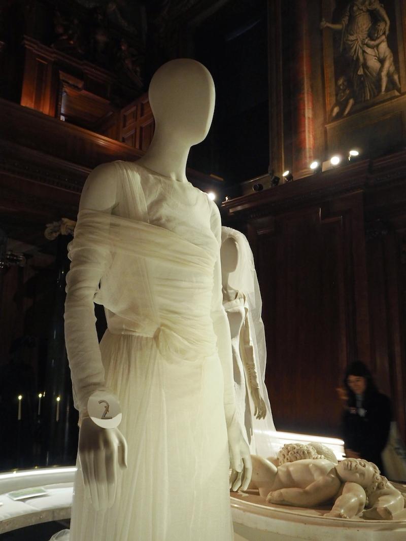 Chatsworth House House Style Stella Tennant wedding dress