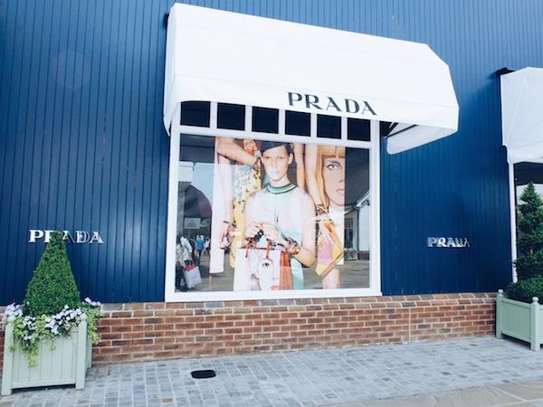 Bicester Village Prada store