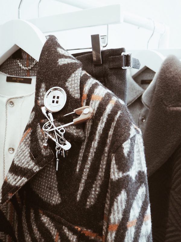 Louis Vuitton menswear Aw15 Christopher Nemeth