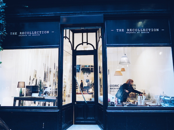 THE RECOLLECTION concept store in Antwerp