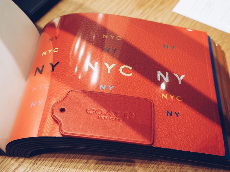Coach House Regent Street monogramming craftsmanship bar - choose your colours