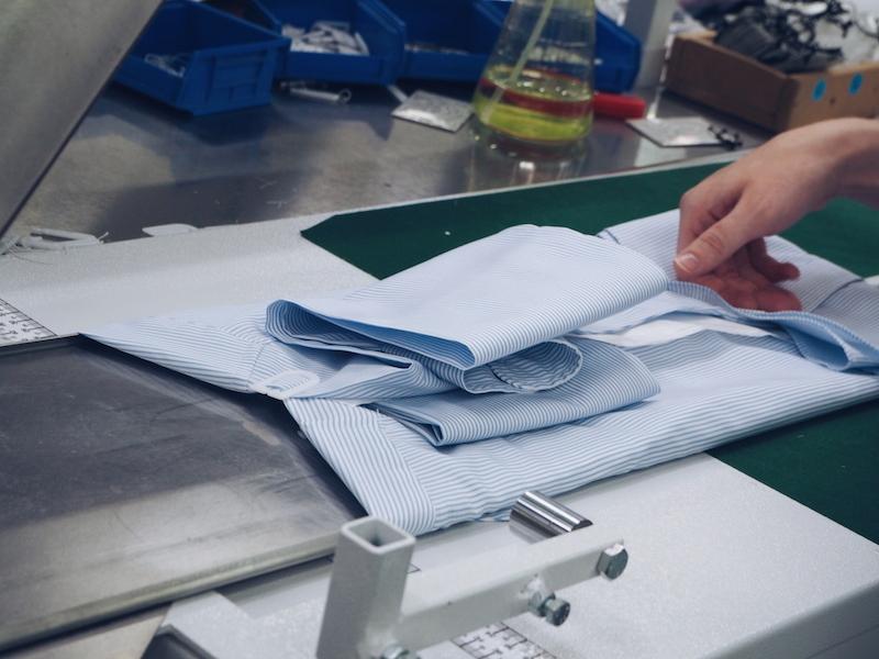 Turnbull & Asser bespoke shirt factory Quedgeley Gloucester