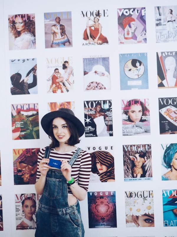 Vogue Festival 2015 cover wall