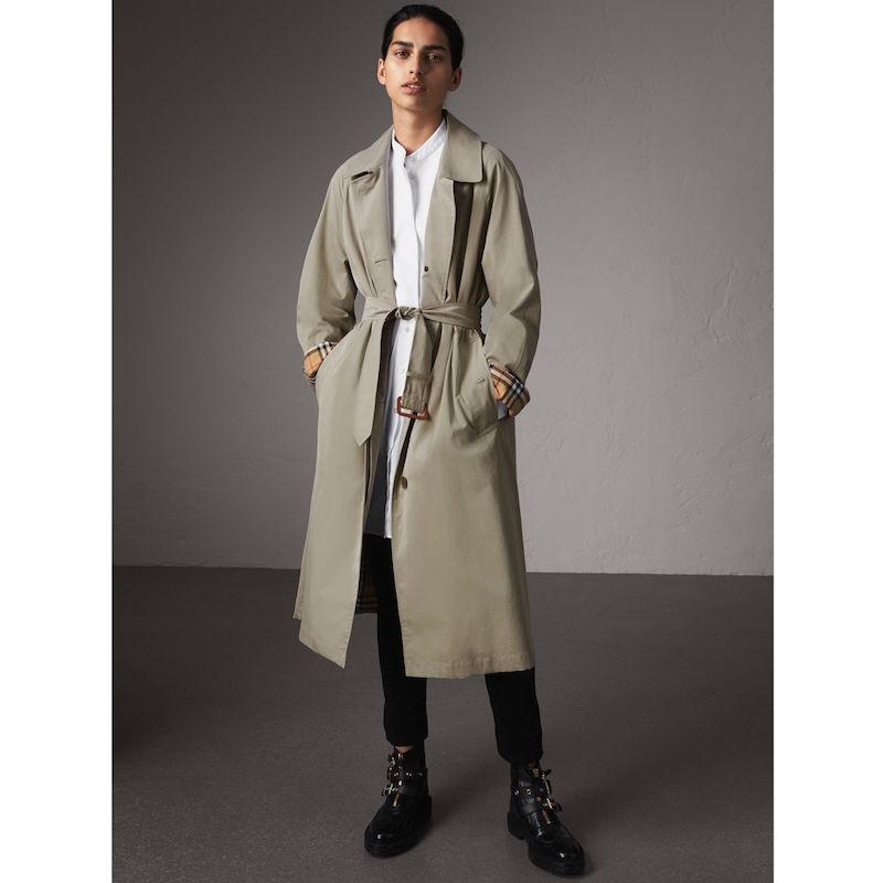 Burberry Brighton extra long car coat