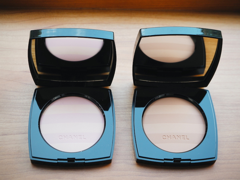 2 Chanel Les Beiges 2015 collection Mariniere striped compacts