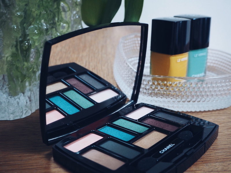 Chanel Neapolis New City SS18 Les 9 Ombres eye palette