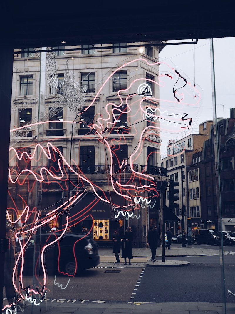 Coach House Regent Street Rexy window