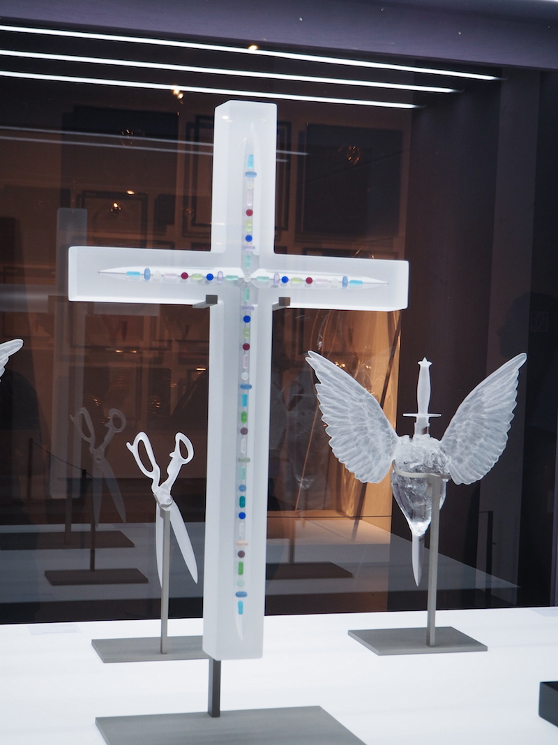 Damien Hirst Eternal collaboration with Lalique