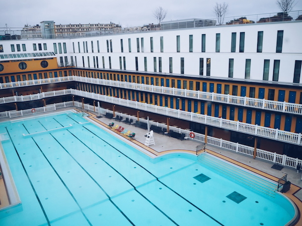 Molitor hotel outdoor pool