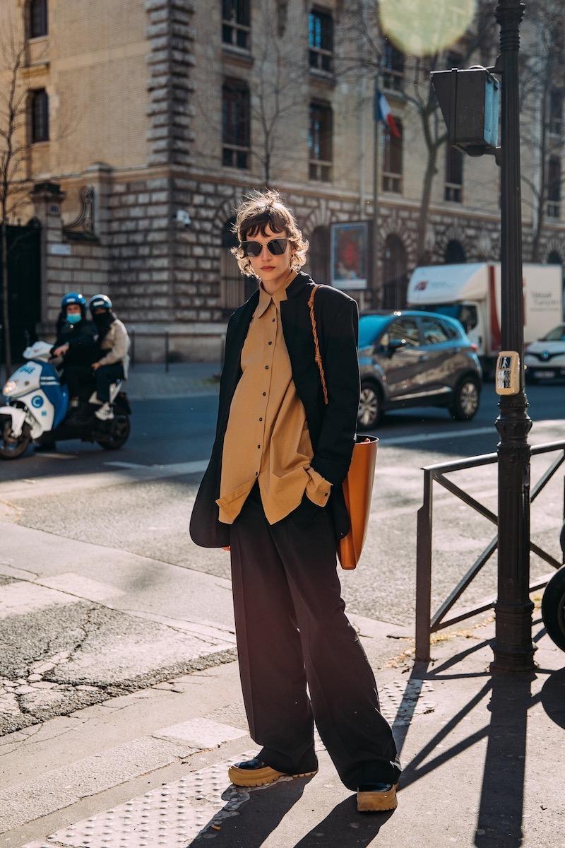 Paris Fashion Week street style by Style du Monde