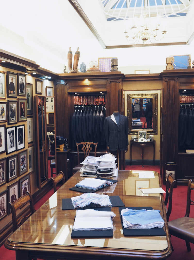 How to buy a bespoke shirt at Turnbull & Asser
