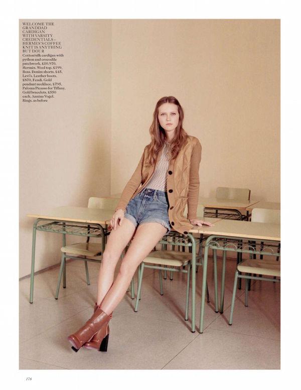 Vogue Seventies shoot Venetia scott
