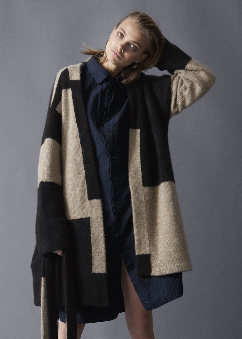 The Elder Statesman patchwork robe casey casey shirt from Tiina The Store