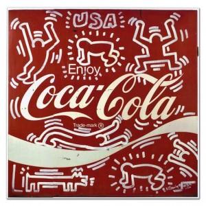 Keith Haring Coca Cola