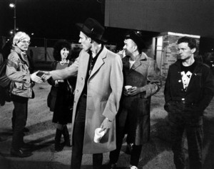 Andy Warhol, Susan Blond, Paul Simonon, Joe Strummer, Terry Chimes