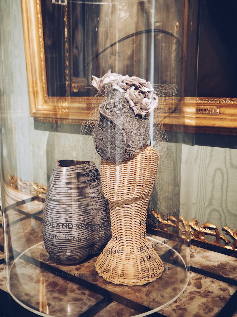 Chatsworth House House Style hat display