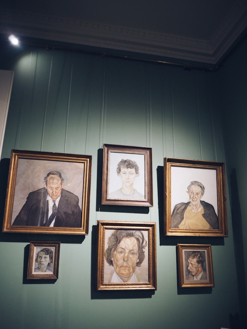 Chatsworth House House Style Lucian freud paintings
