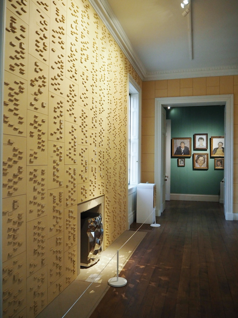 House Style exhibition at Chatsworth House. North Sketch Sequence installation by Jacob van der Beugel