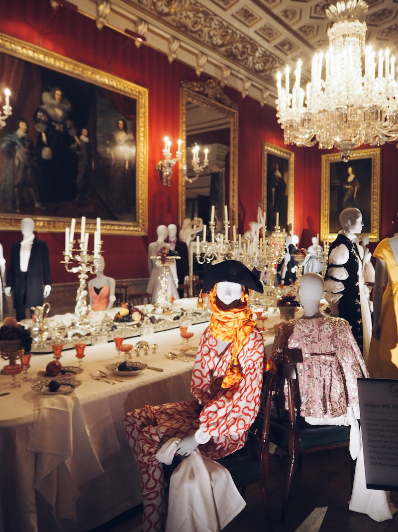 Chatsworth House House Style Great Dining Room Vivienne Westwood