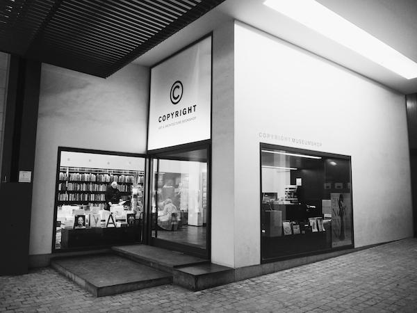 Copyright Book Shop Antwerp