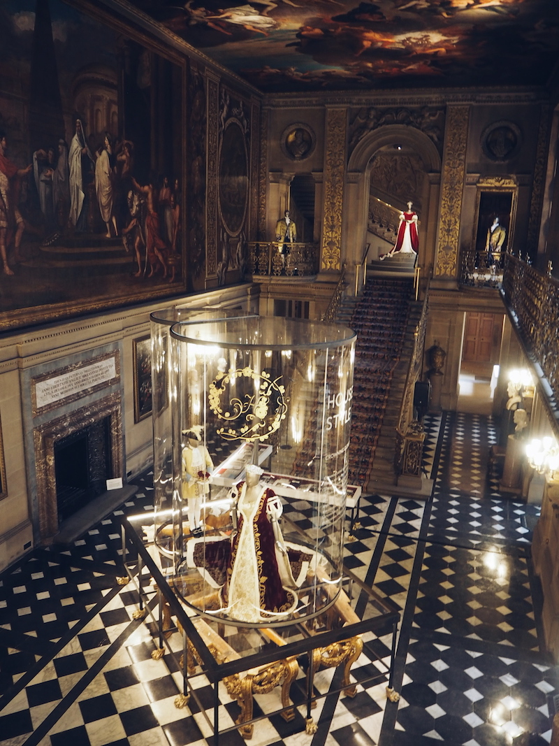 Chatsworth House House Style The Painted Hall